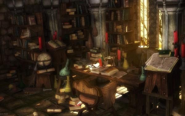Сказочные картинки - лаборатория алхимика