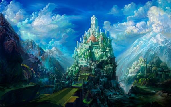 Сказочные картинки - потрясающий мир